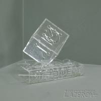 Сборный прозрачный кубок