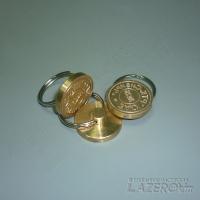 Нумерованные пломбирчики для пластилина и сургуча