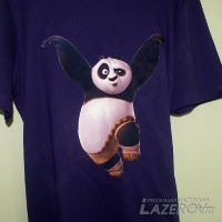 Пушистая флоковая Панда