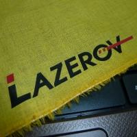 Печать на цветной ткани (лен)