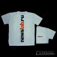 Печать на футболках с двух сторон